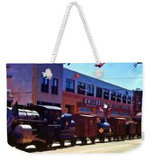 The Train In The Parade Weekender Tote Bag