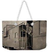 The Train Robber Weekender Tote Bag
