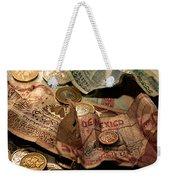 The Traveller's Nightstand Weekender Tote Bag