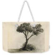 The Tree Quietly Stood Alone Weekender Tote Bag