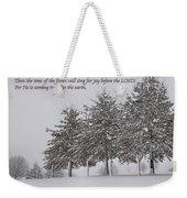 The Trees Weekender Tote Bag