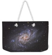 The Triangulum Galaxy Weekender Tote Bag by Reinhold Wittich