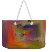 The Tributaries Weekender Tote Bag by Tim Allen