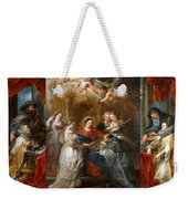 The Triptych Of Saint Ildefonso Altar Weekender Tote Bag