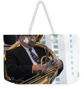 The Tuba Player Weekender Tote Bag