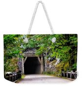 The Tunnel On The Scenic Route Weekender Tote Bag
