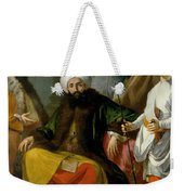The Turkish Ambassador And His Entourage At The Court Of Naples Weekender Tote Bag