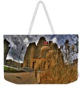 The Twisting Winds Of The Square Weekender Tote Bag
