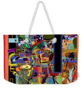 The Tzaddik Lives On Emunah 4 Weekender Tote Bag