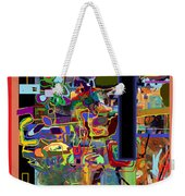 The Tzaddik Lives On Emunah 6 Weekender Tote Bag