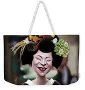 The Ugly Geisha Weekender Tote Bag