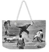The Umpire Calls It Safe Weekender Tote Bag