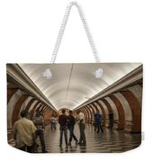 The Underground 1 - Victory Park Metro - Moscow Weekender Tote Bag