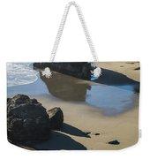 The Unexplored Beach Weekender Tote Bag
