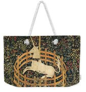 The Unicorn In Captivity Weekender Tote Bag
