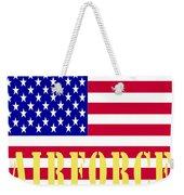 The United States Airforce Weekender Tote Bag