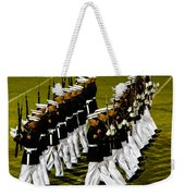The United States Marine Corps Silent Drill Platoon Weekender Tote Bag