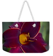 The Unsurpassable Daylily Weekender Tote Bag