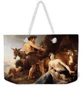 The Upbringing Of Zeus Weekender Tote Bag