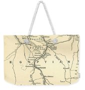 The Upper Nile Weekender Tote Bag