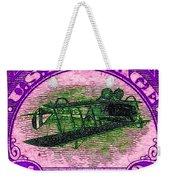 The Upside Down Biplane Stamp - 20130119 - V2 Weekender Tote Bag