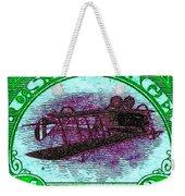 The Upside Down Biplane Stamp - 20130119 - V4 Weekender Tote Bag