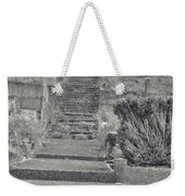 The Upstairs At The Cemetery Weekender Tote Bag