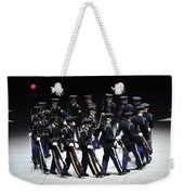 The U.s. Army Drill Team Performs Weekender Tote Bag