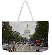 The Us Capitol Building From Pennsylvania Avenue Weekender Tote Bag