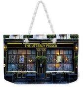 The Utterly Pissed Pub Weekender Tote Bag