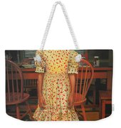 The Valentine Dress Weekender Tote Bag