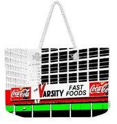 The Varsity Atlanta Pop Art Weekender Tote Bag