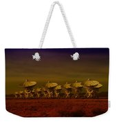 The Very Large Array In New Mexico Weekender Tote Bag