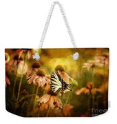The Very Young At Heart Weekender Tote Bag by Lois Bryan