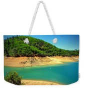 The View At Shasta Lake Weekender Tote Bag