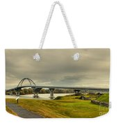 The View From Crown Point New York Weekender Tote Bag