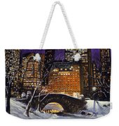 The View From The Bridge Weekender Tote Bag