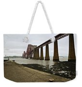 The View Of The Forth Bridge Weekender Tote Bag
