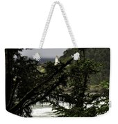 The View Of The Heceta Lighthouse Weekender Tote Bag