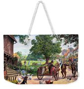 The Village Green Weekender Tote Bag
