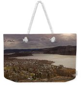 The Village Of Cold Spring And The Hudson River Weekender Tote Bag
