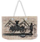 The Vintage Fireman Weekender Tote Bag