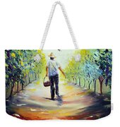 The Vintner Weekender Tote Bag by Meaghan Troup