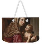 The Virgin And Child Weekender Tote Bag by Jan van Bijlert or Bylert