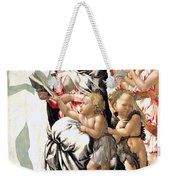 The Virgin And Child With Saint John And Angels Weekender Tote Bag