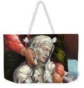 The Virgin And Saint John The Evangelist Weekender Tote Bag