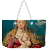 The Virgin As Queen Of Heaven Suckling The Infant Christ Weekender Tote Bag