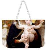 The Virgin Of The Lilies Weekender Tote Bag