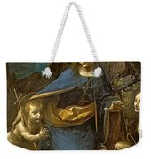 The Virgin Of The Rocks Weekender Tote Bag