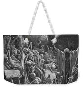 The Vision Of The Valley Of Dry Bones Weekender Tote Bag